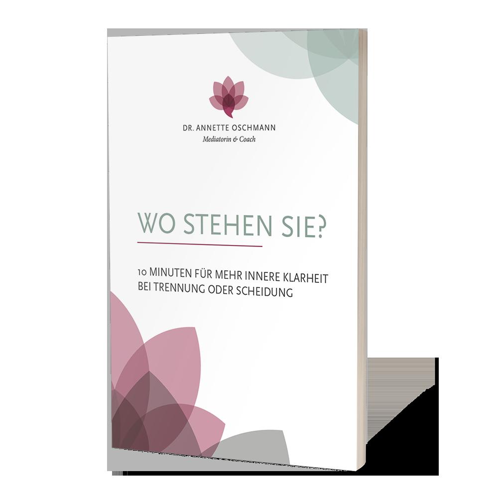 Buch mit Titel Entscheidungshilfe bei Trennung